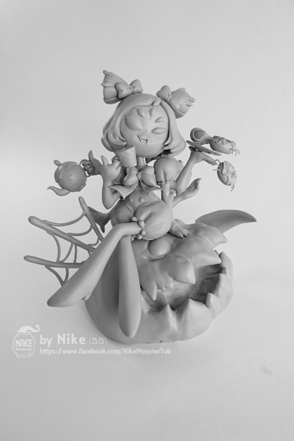 Undertale - Muffet by NikeMonsterTub