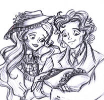 A barber and his wife by Lilostitchfan