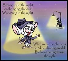 Strangers in the night by Lilostitchfan