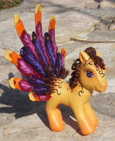 My Little Pony Custom Autumn by colorscapesart