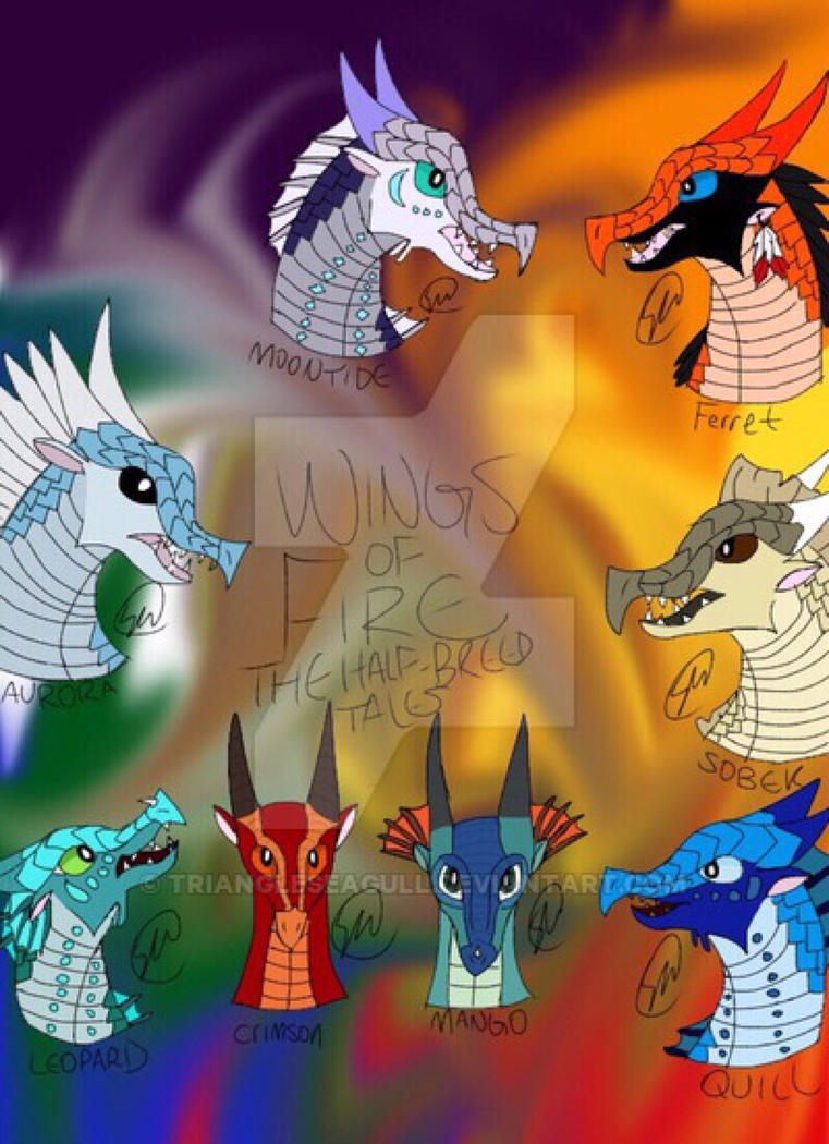 Wings of Fire the Half-Breed Tales by TriangleSeagull