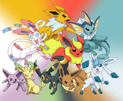 Eeveelutions  by TriangleSeagull