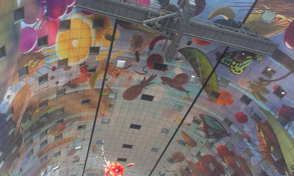 markthal ceiling by numerodix