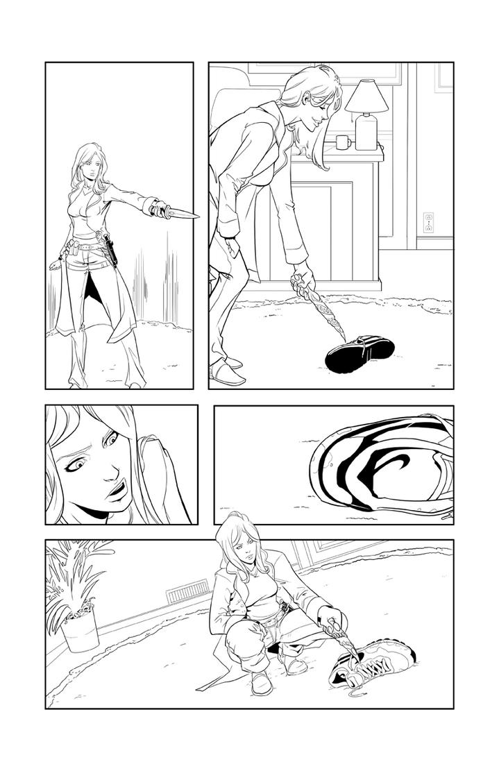 Storm Born Issue 1 pg 2 by davehamann