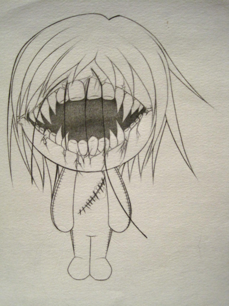 Scary Doll Drawings images