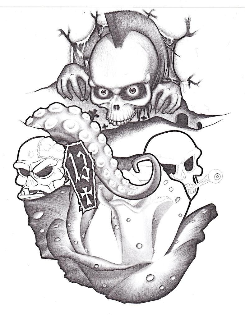 Unfinished Sleeve Design... - sleeve tattoo