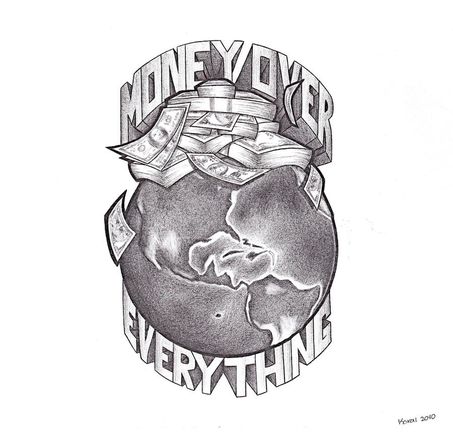 Money Over Everything  by Money Over Everything Wallpaper