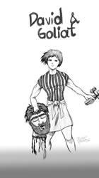 David y Goliath by immagestudios