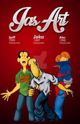 Joka Alec and Spiff since 1996