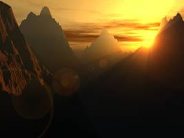 Mountains by diamondsword255