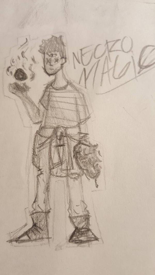 Necro Magic by LemonHeadv