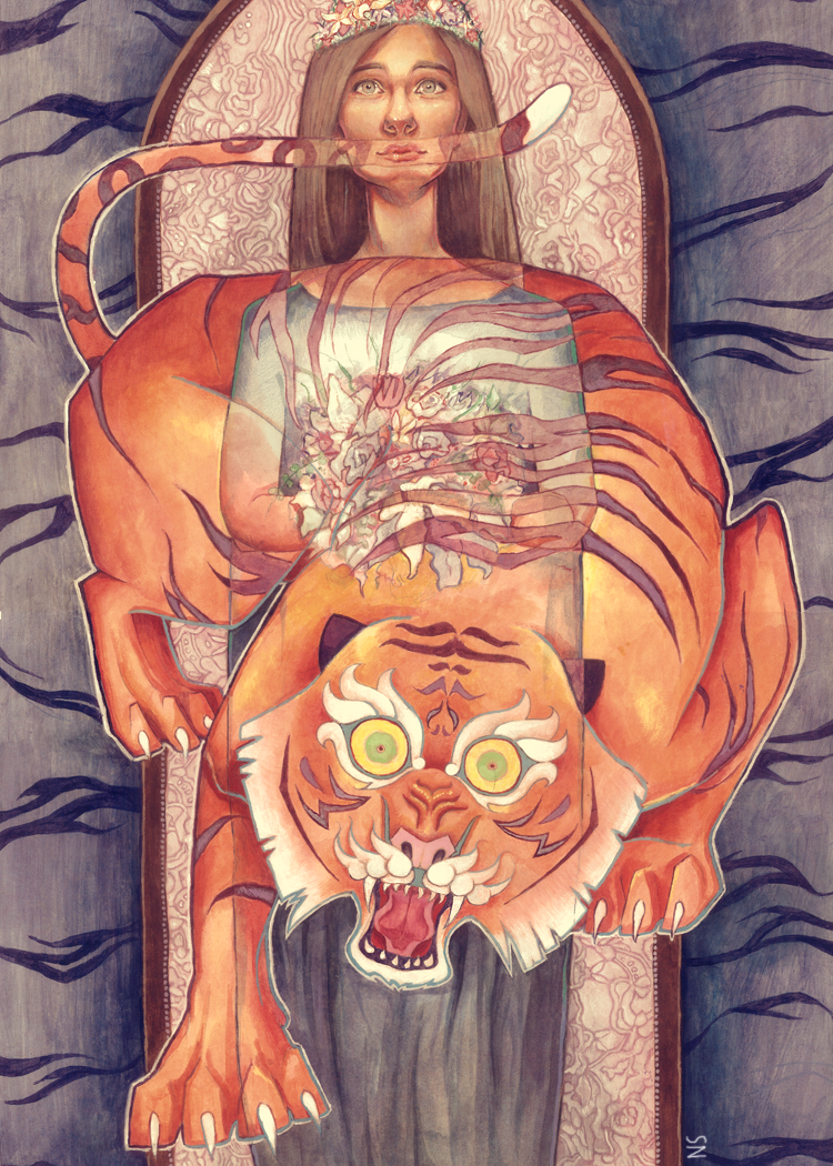 The Lady or the Tiger? by hodgepodged on DeviantArt