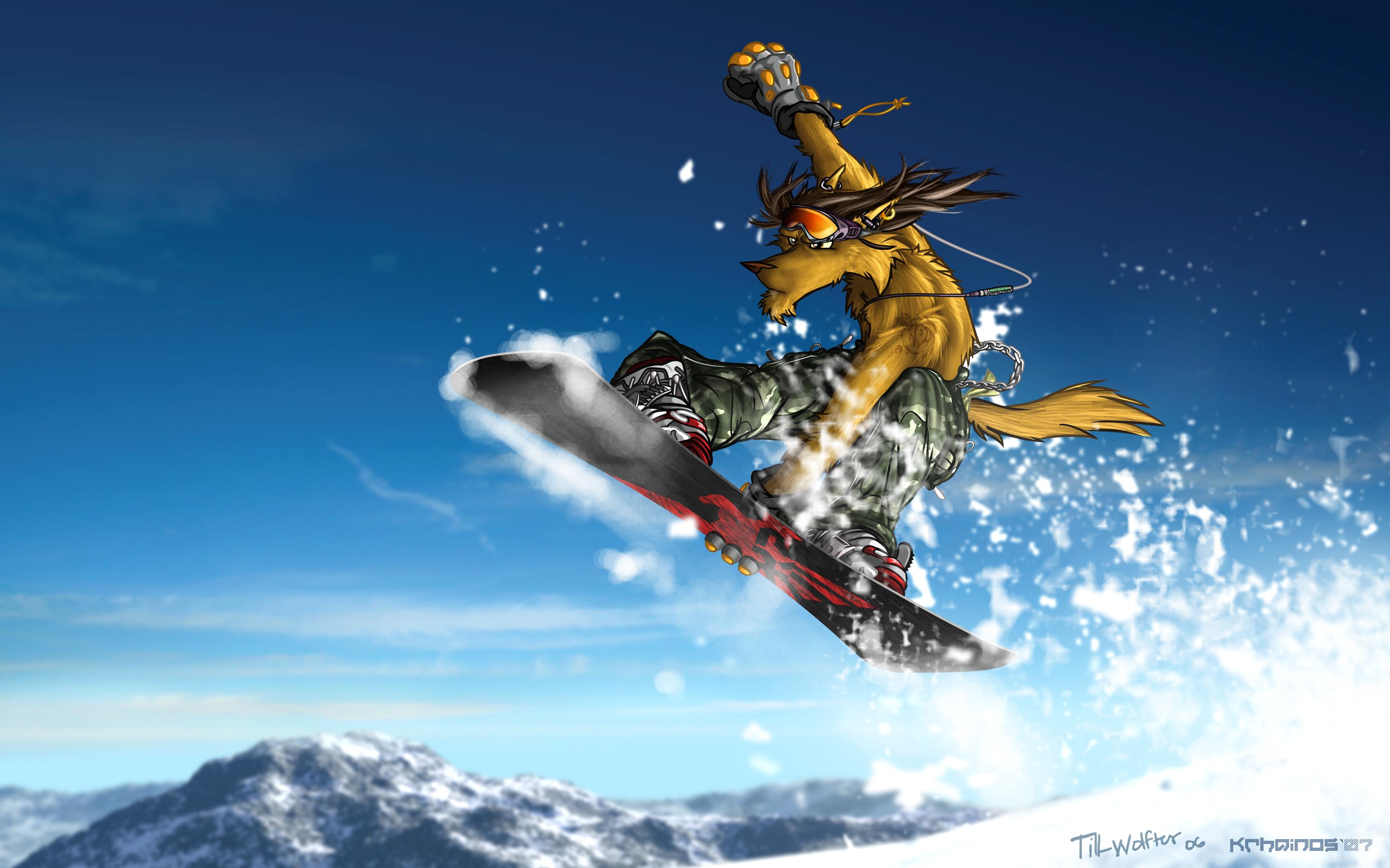 Summer Snowboarding 06 Mk 2 by krhainos