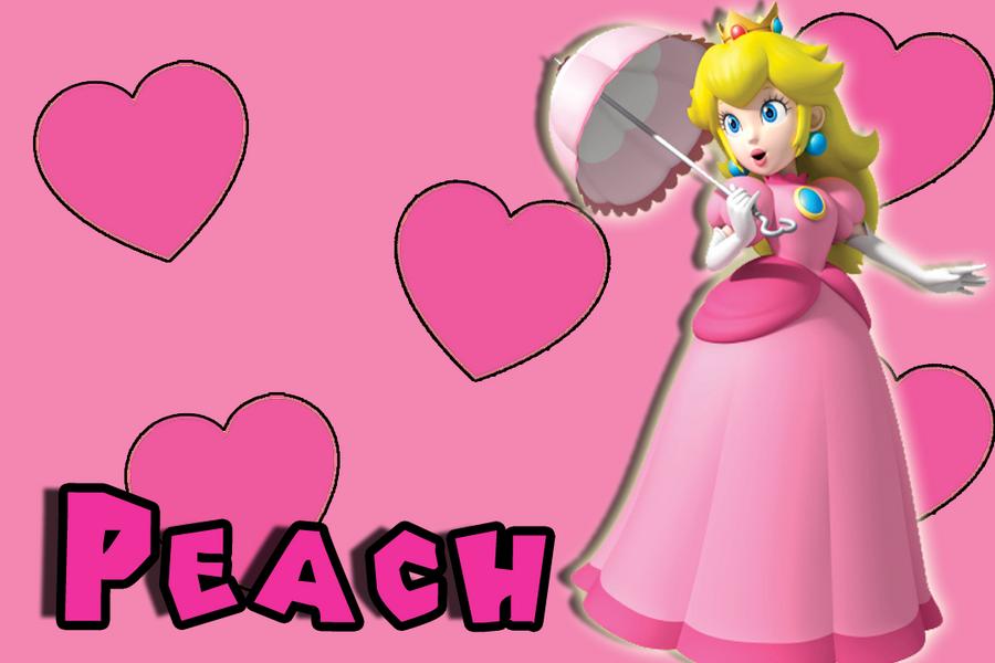 Princess Peach Wallpaper by Mariovspeach on DeviantArt