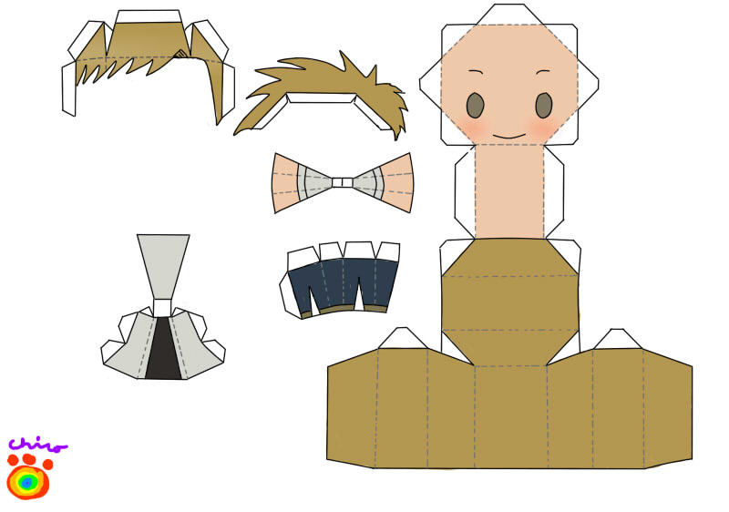 al papercraft by narupikalover