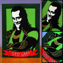 This birthday card is definitely Loki'd by Witjanna