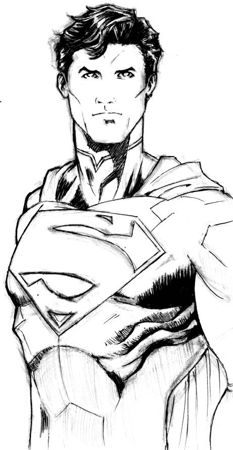 Superman The New 52 a ball pen