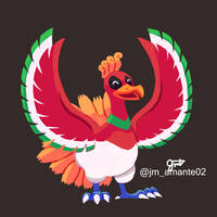 Ho-Oh by jmamante02