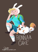 Fionna and Cake by jmamante02