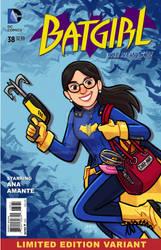 Batgirl cover for my sister