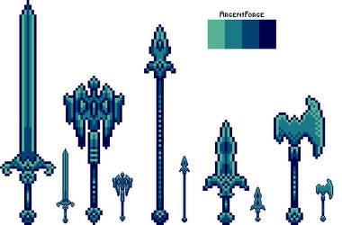 Mythril Weapon Set by ArgentForge