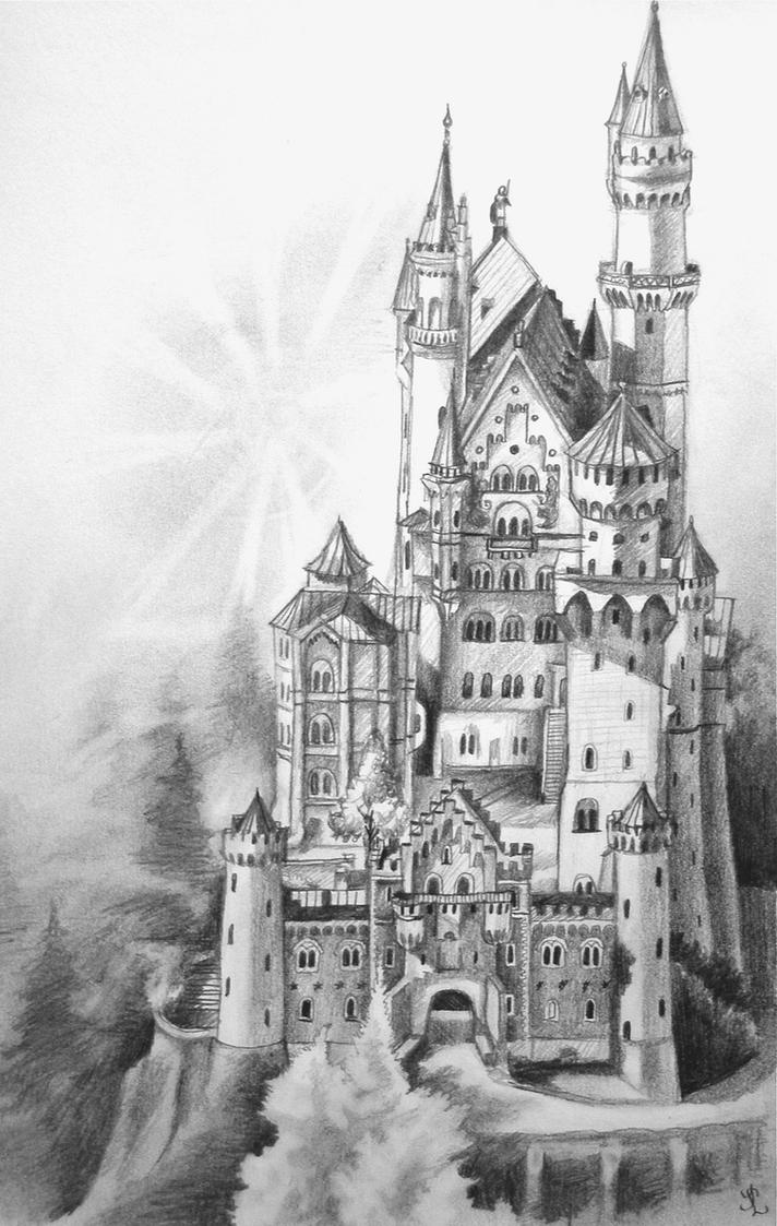 Neuschwanstein Castle by Lhox on DeviantArt