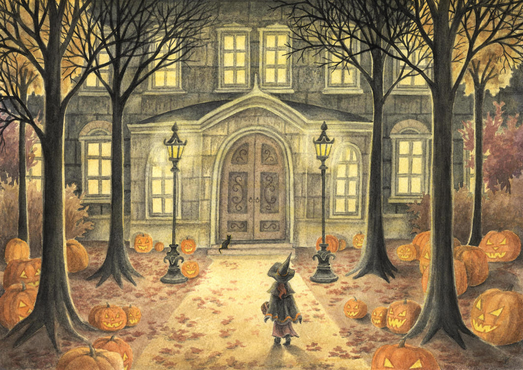 All Hallows' Eve by Lhox