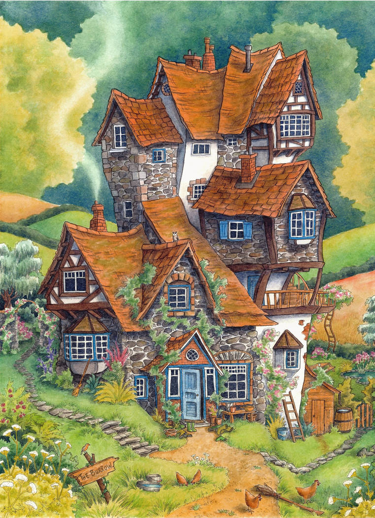 The Burrow by Lhox