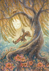 The Willow Swing by Lhox