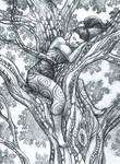 Oak Bed by Lhox
