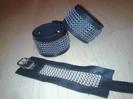 chainmail cuffs