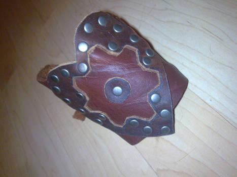 heart gear cuff