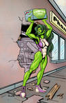 She-Hulk's Bad Day