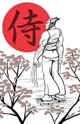 Wolverine Samurai by ShamanMagic