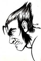 Wolverine sketch by ShamanMagic