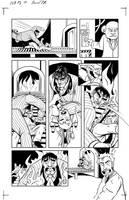 Freelance Blues issue 6 page 10 by ShamanMagic
