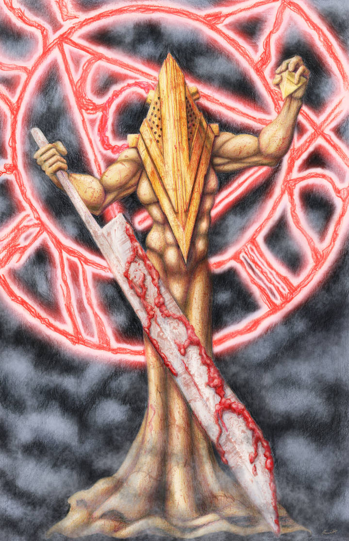 Pyramid Head by ShamanMagic