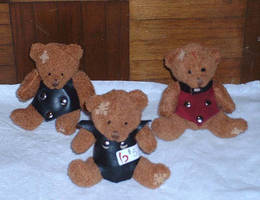 baby bondage bears by ShamanMagic