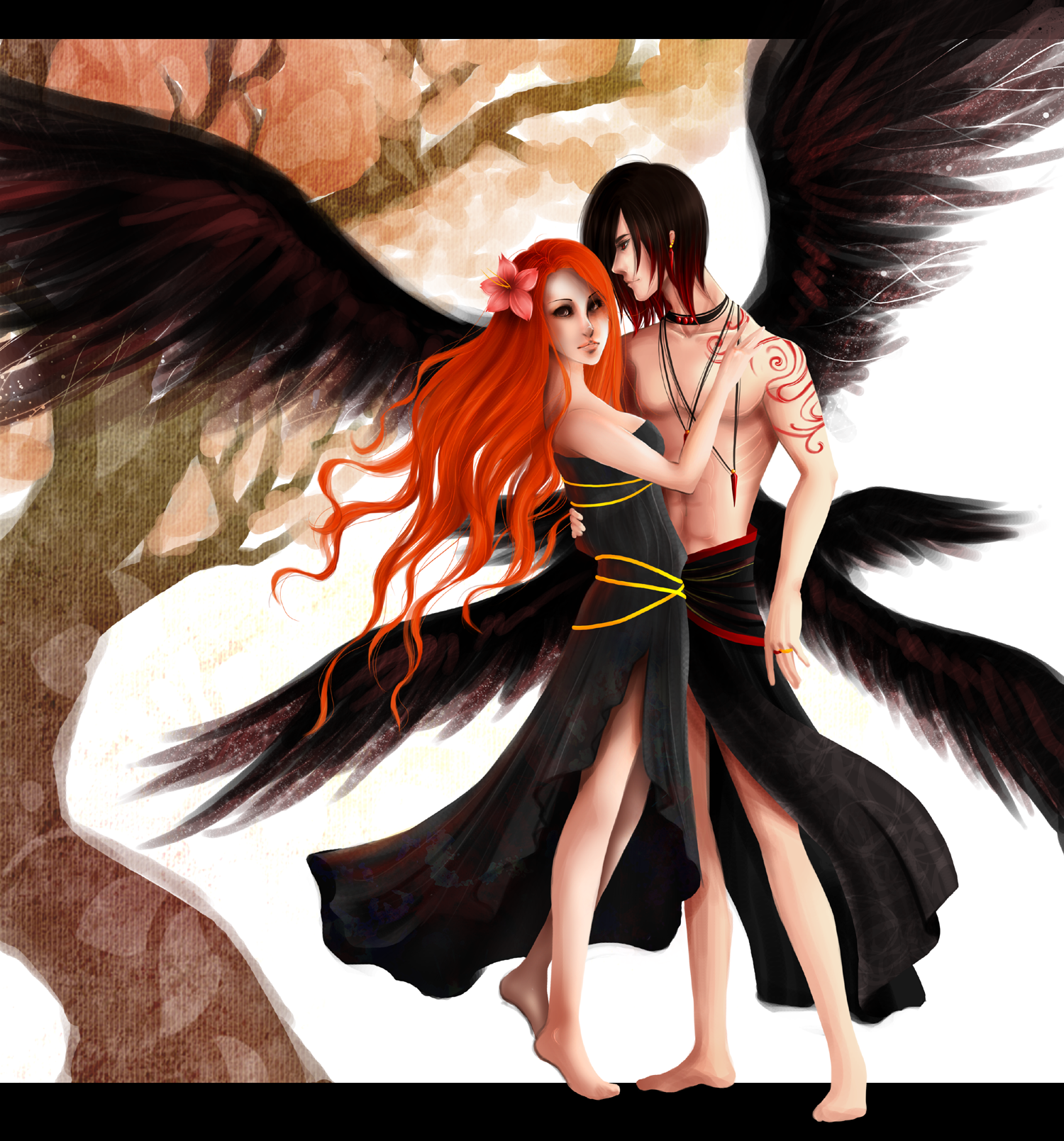 Lilith And Lucifer By ArtBunneh On DeviantArt