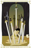 10 of Swords by egypturnash