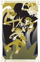 7 of Swords by egypturnash