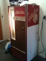 Vintage Nuka-Cola Machine by egypturnash
