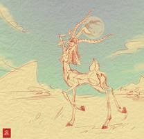 Cybelle by egypturnash