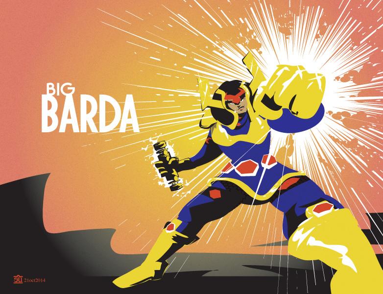 Big Barda by egypturnash