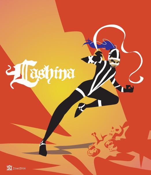 Lashina by egypturnash