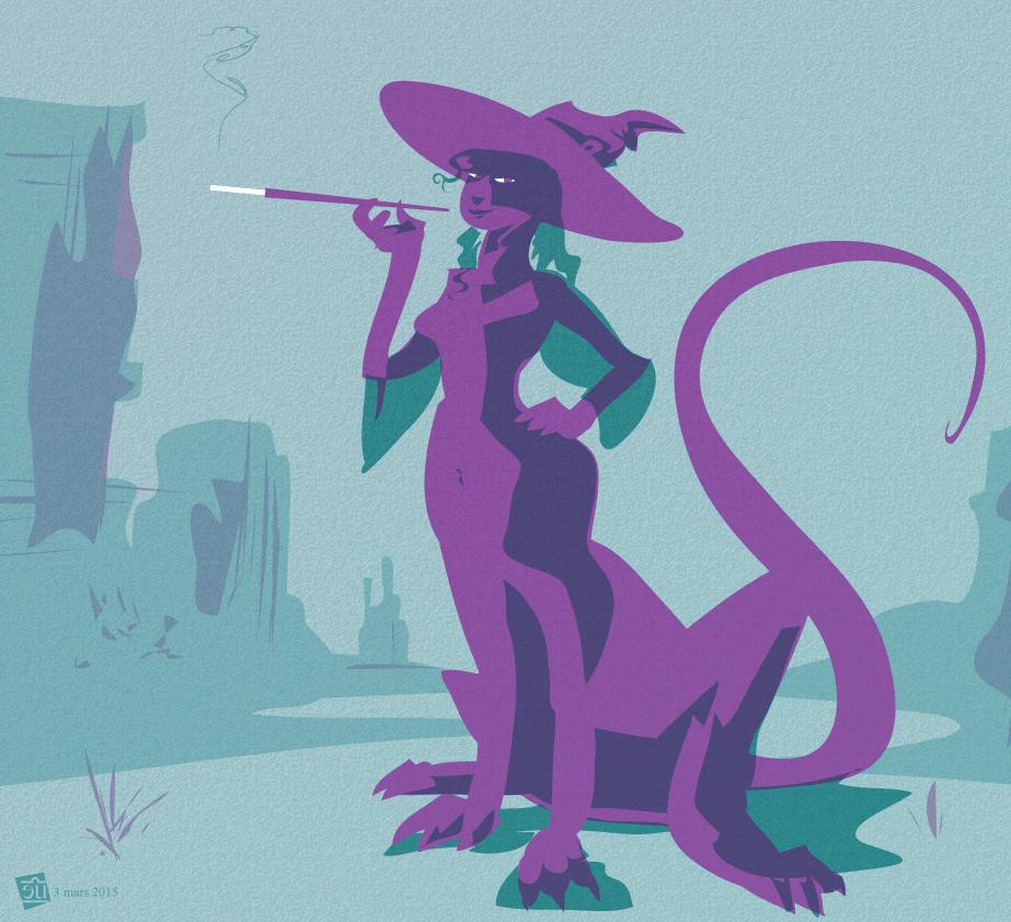 Witchsona 2015 by egypturnash
