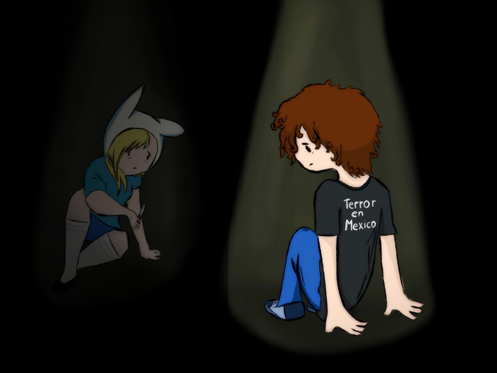 Turquoise bedding - Creepypasta Adventure Time Socrates Wish The Lost Episode