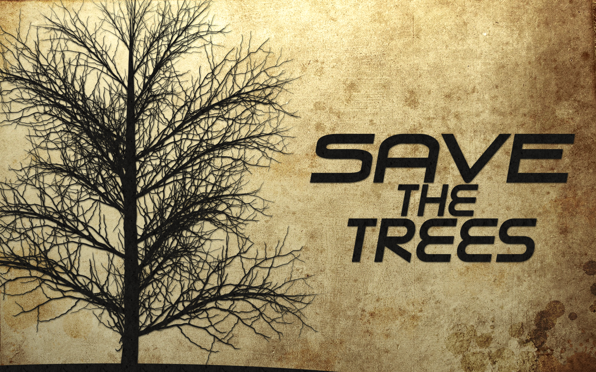 save trees wallpaper 1 - photo #23