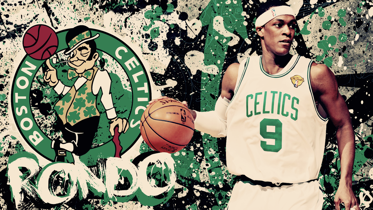 Rajon Rondo Wallpaper by lucasitodesign