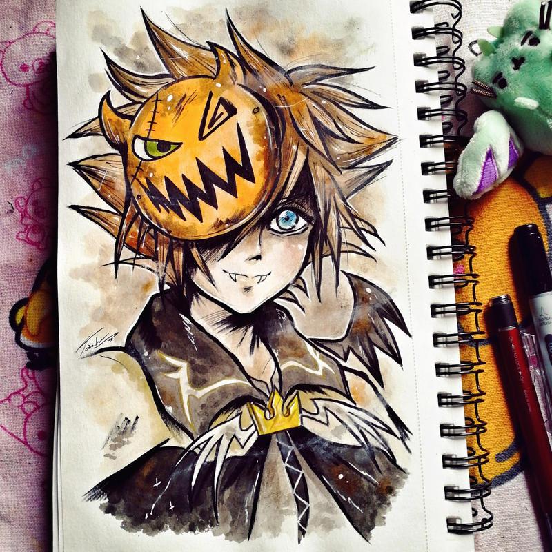 .Halloween Town Sora.